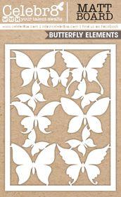 Celebr8 Matt Board Equi - Butterfly Card