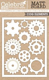 Celebr8 Matt Board Equi - Cog & Gear Card