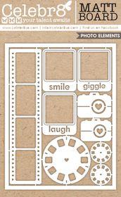 Celebr8 Matt Board Maxi - Photo Combo Pack