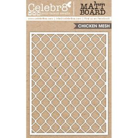 Celebr8 Matt Board Equi - Chicken Wire