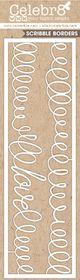 Celebr8 Matt Board Lanki - Scribble Borders