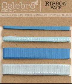 Celebr8 Ribbon Pack - Blue