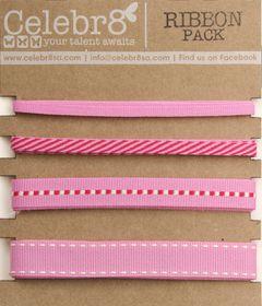 Celebr8 Ribbon Pack - Pink