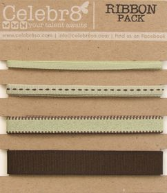 Celebr8 Ribbon Pack - Green