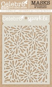 Celebr8 Glamorous Mask - Sparkle