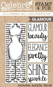 Celebr8 Glamorous Stamp - Glamour