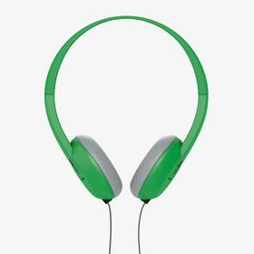 SkullCandy Uproar with Tap Tech Earphones - Ill Famed/Green/Black