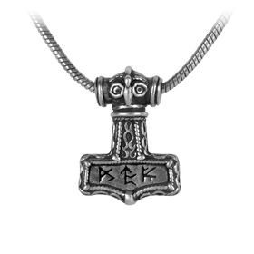 Alchemy Bindrune Hammer Pendant