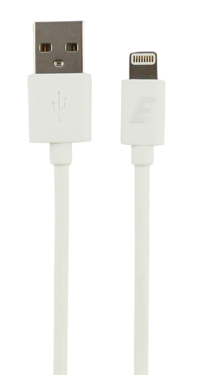 apple lightning cable. energizer apple lightning cable 2m - white