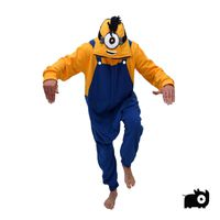 aFreaka Adults One Eyed Minion Inspired Onesie - Blue & Yellow