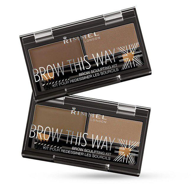 Rimmel Btw Brow Powder Kit 002 Mid Brown Buy Online In South
