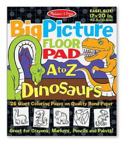 Melissa & Doug Big Picture Floor Pad - Dinosaurs