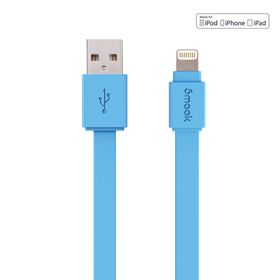Smaak Charge & Sync 1.5M Lightning Cable - Blue