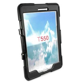 "Tuff-Luv Defender Case (Rugged) for the Samsung Tab A 9.7"" - Black"