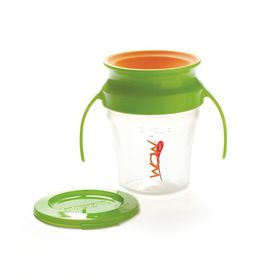 4aKid - Wow Baby - Cup - Green and Orange