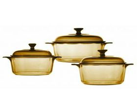 Visions - 6 Piece Versa Pot Set - Amber