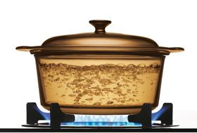 Visions - 3.5 Litre Covered Stockpot - Amber