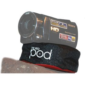 The Pod The Red Pod Bean Bag Camera Support