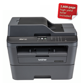 Brother MFC-L2740DW 4-in-1 Multifunction Wi-Fi Mono Laser Printer