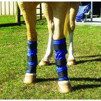 Techniche Hyperkewl Evaporative Cooling Horse Leg Wraps - Blue