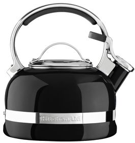 KitchenAid - Stove Top Kettle - Onyx Black