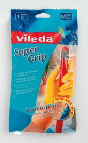 Vileda - Supergrip Gloves - Large