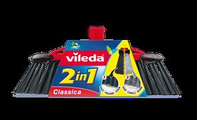 Vileda - 2-In-1 Broom With Handle