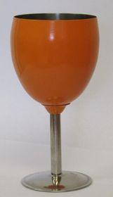 LeisureQuip - Stainless Steel Wine Goblet - Orange