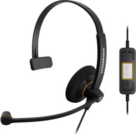 Sennheiser SC30 USB ML Monaural UC Headset - Black