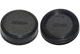 Phottix Body and Rear Lens Cap for Nikon DSLR