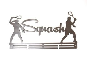 TrendyShop Squash Medal Hanger - Stainless Steel