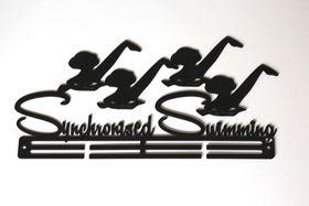 TrendyShop Synchronised Swimming Medal Hanger - Black