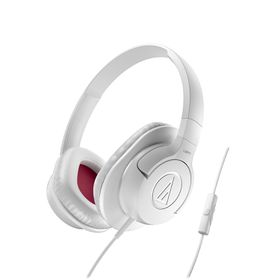 Audio Technica SonicFuel Heaphones with Remote & Mic - White