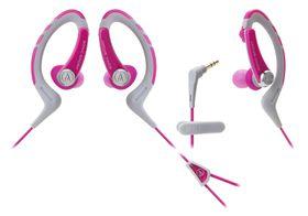 Audio Technica SonicSport In-Ear Headphones - Pink