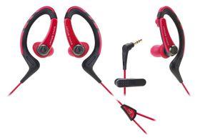 Audio Technica SonicSport In-Ear Headphones - Red