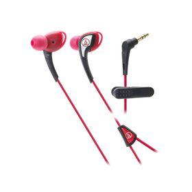 Audio Technica SonicSport In-Ear Headphone - Red