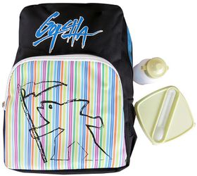 Gotcha Boys Backpack With Lunch Box - Wave