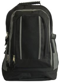 Gotcha Student Laptop Backpack - Black & Grey