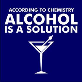 JuiceBubble According to Chemistry Men's Navy T-Shirt