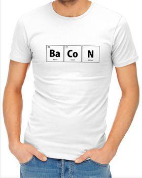JuiceBubble BaCoN Men's White T-Shirt