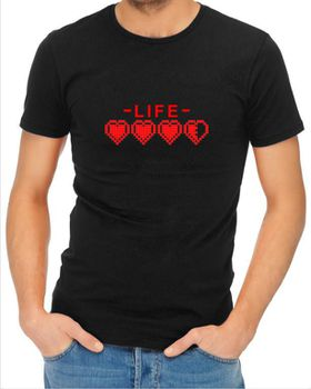 JuiceBubble Life Men's Black T-Shirt