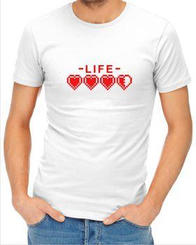 JuiceBubble Life Men's White t-Shirt