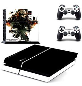 SKIN-NIT Decal Skin for PS4: Metal Gear Solid Ground Zeroes