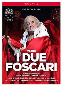 I Due Foscari: Royal Opera House (Pappano) (DVD)