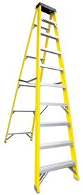 Fragram - Ladder Fibre Glass - 9+1 Step