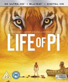 Life of Pi (4K Blu-ray)
