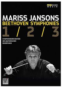 Beethoven: Symphonies Nos. 1-3 (DVD)