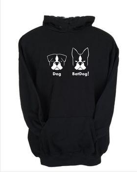 JuiceBubble BatDog Men's Black Hoodie