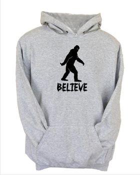 JuiceBubble Believe Men's Grey Hoodie