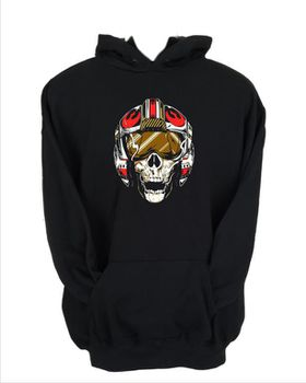 JuiceBubble Dead Rebel Men's Black Hoodie